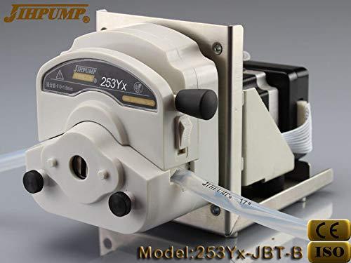 CE ROHS Programmable Peristaltic Pump with Stepper Motor 12v 24v Liquid Chemicals Dosing Pump, High Flow Medical Grade