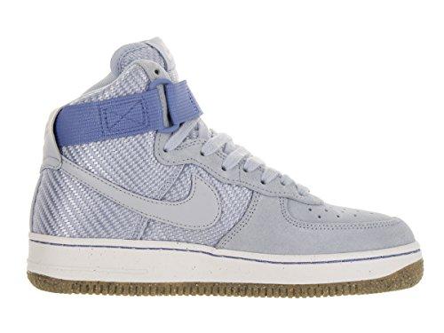 Nike Womens Air Force 1 Hi Premium Nero / Nero Gum Med Marrone Scarpe Da Basket Vela Focena Focena 401