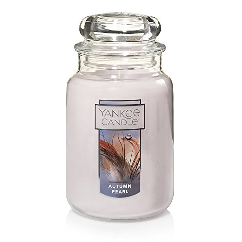 (Yankee Candle Large Jar Scented Candle, Autumn Pearl)