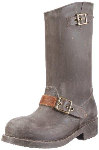 Nat-2 Prime Biker WPRBGB Damen Stiefel Grau/grey/ brown