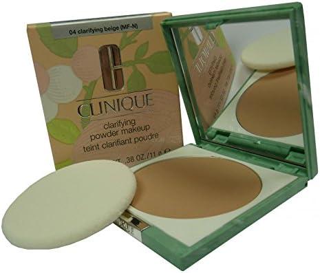 Clinique clarifying Powder Makeup 04 Beige, 1er Pack (1 x 11 g): Amazon.es: Belleza