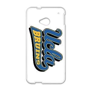 NCAA Uconn Huskies Alternate 2013 White Phone Case for HTC M7