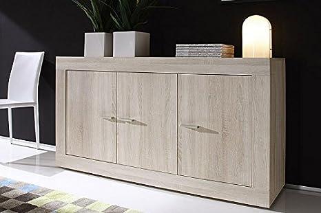 Credenza Moderna Rovere Naturale : Zenzero shop credenza moderna madia di design ante legno