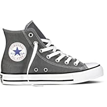 Converse Chuck Taylor All Star High Top Core Colors (4 D(M) US, Charcoal)