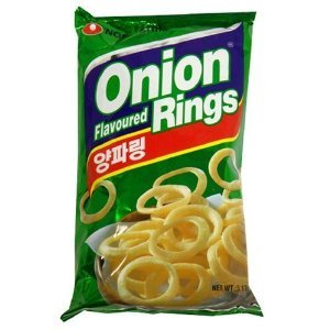 Nong Shim Onion Rings | Made in Korea | 3.17 ounces (Best Frozen Onion Rings)