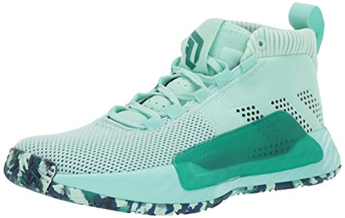 adidas Men's Dame 5, Clear Mint Marine/Legend Ink, 8.5 M US