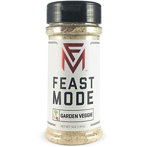 - Garden Veggie - Feast Mode Flavors - Low Sodium, No MSG, Gluten Free, All Natural, Meal Prep Seasoning , Healthy , Omelette Flavoring , Breakfast Spices