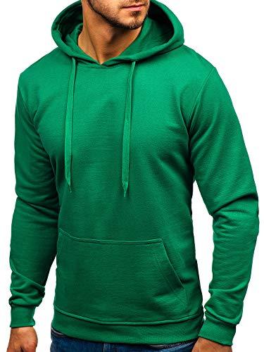 à Sweat Sweat Bolf 1a1 base Homme capuche de Green Sport capuche Mélange Style 5361 à nwO0Pk8