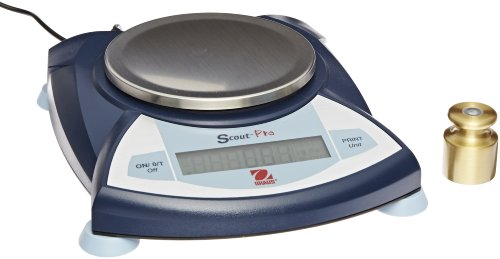 Ohaus SP202 Scout Pro Portable Balances, 200g Capacity, 0.01g Readability