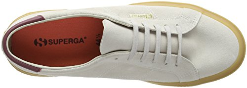 Superga Adults' Cream Trainers Suefglm White Unisex 2386 White wOwPpgqH