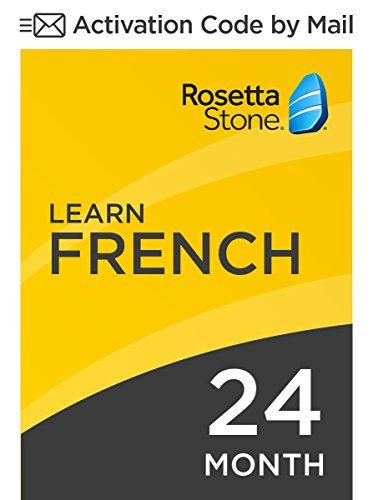 Rosetta Stone: Learn French for 24 months on iOS, Android, PC, and Mac - mobile & online access