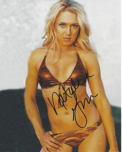 - Autographed Natalie Gulbis Photo - PRO GOLFER Also considered to be SEX Symbol in the 1 VICTORY 37 TOP TEN FINISHES 8x10 Color