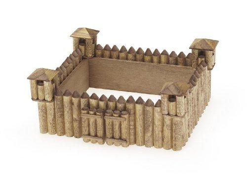 Darice 9181 23 Wooden Model Fort