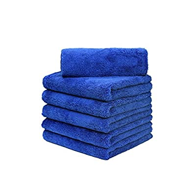CARCAREZ Water Absorbing Microfiber Drying Towel for Auto Car (p o 6): Automotive