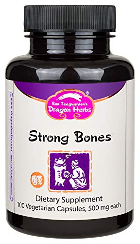 Dragon Herbs – Strong Bones – 500 mg – 100 Vegetarian Capsules