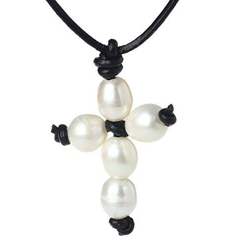 Leather Unisex Necklace - 9