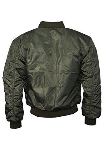 Catch One para mujer chaqueta Vintage MA1Bomber Classic Zip Up motorista de chaqueta elegante acolchada abrigo caqui