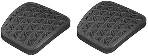ACAMPTAR 2X Brake Rubber Clutch Pedal Cover for VAUXHALL ASTRA ZAFIRA 90498309