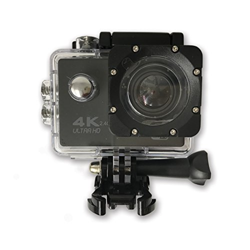 TechComm SPH9 Ultra 4K 30fps Action Sports 16MP Camera Sony SONY179 Sensor 30M Waterproof 170° Wide Angle Lens with Remote - Black Action Cameras TechComm