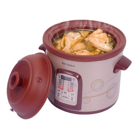 TianJi Purple Clay Stew Pot Slow Cooker Healthy Cooker DGD40-40SWD 4L