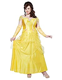 California Costumes Women's Plus-Size Classic Beauty Long Dress Gown Plus