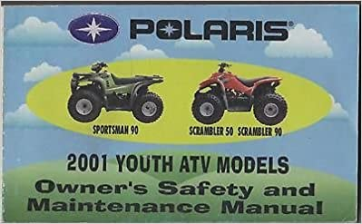 2001 POLARIS YOUTH ATV SPORTSMAN 90, SCRAMBLER 50, SCRAMBLER
