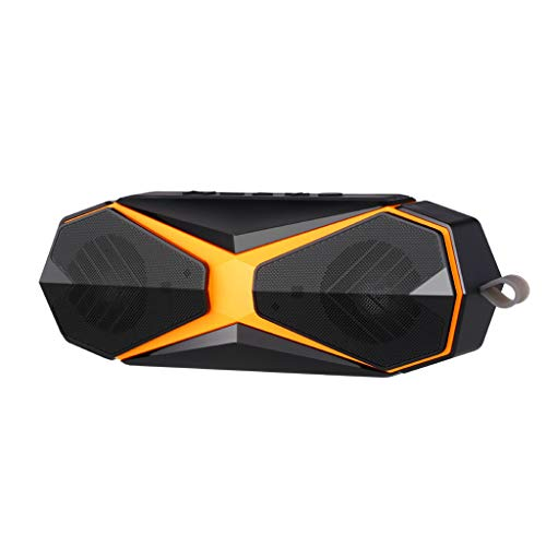 New & Improved Waterproof Card Bluetooth Speaker Mini Portable Stereo Bass Gun Outdoor Mosquito Repellent Sound/Powerful & Efficient ()