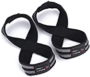 MOOCY Figure 8 Straps-Weightlifting Straps,Deadlifts - Deadlifting Straps,Lifting Straps ,Wrist Straps