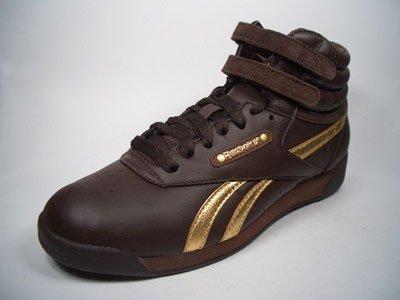 Reebok Freestyle Hi Guilded Braun-Gold J02985 taglia Euro 37/US 6,5/UK 4/23,5  cm: Amazon.it: Sport e tempo libero