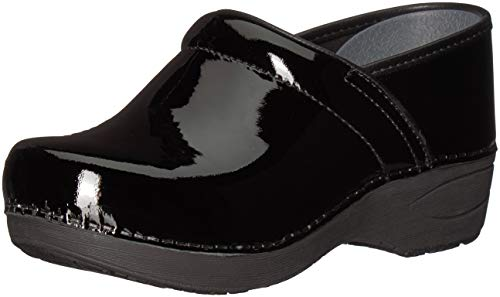 - Dansko Women's Wide XP 2.0 Clog, Black Patent, 37 W EU (6.5-7 US)