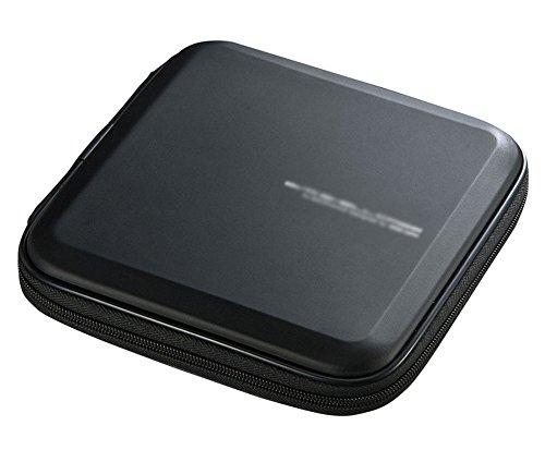 Elezay 12 Capacity Blu-ray CD Case DVD Storage CD Wallet CD Holder, Black