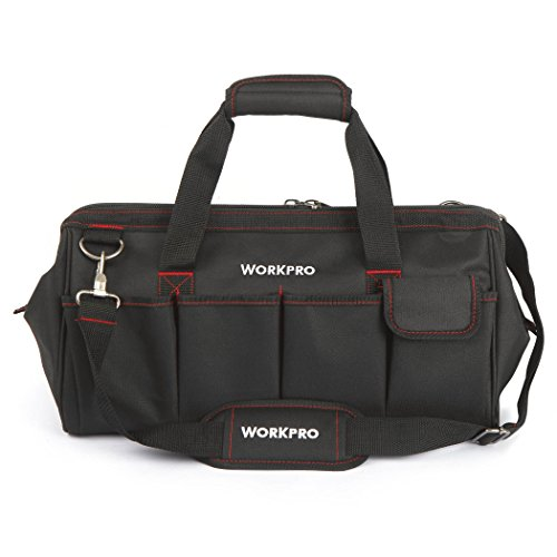 WORKPRO W081023A Close Top Wide Mouth Storage Bag, 18""