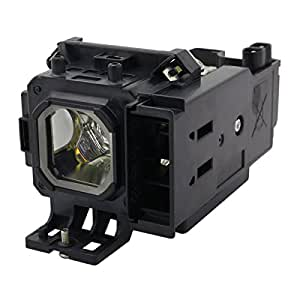Lampara de Reemplazo con Carcasa AuraBeam Profesional para Proyector Canon LV-7365 (accionado por Philips)