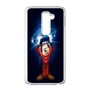 LG G2 White phone case Disney Cartoon Characters Mickey MouseDMU5716597