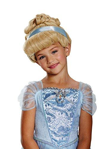 Cinderella Deluxe Child Wig, One Size