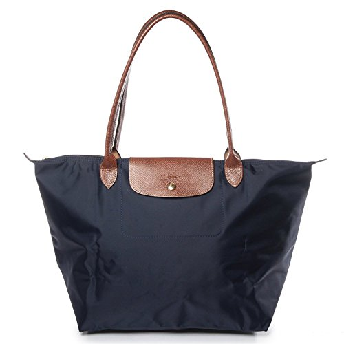 Longchamp Le Pliage Large Nylon Tote Bag Handbag in New Navy