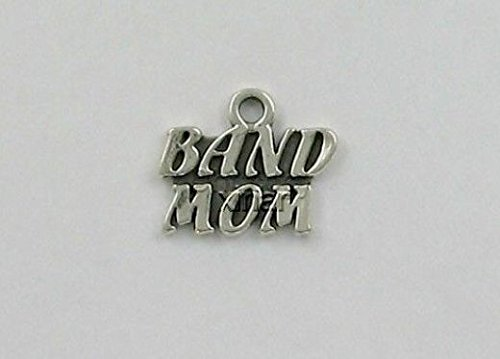 Sterling Silver Band Mom Charm Jewelry Making Supply, Pendant, Charms, Bracelet, DIY Crafting by Wholesale Charms