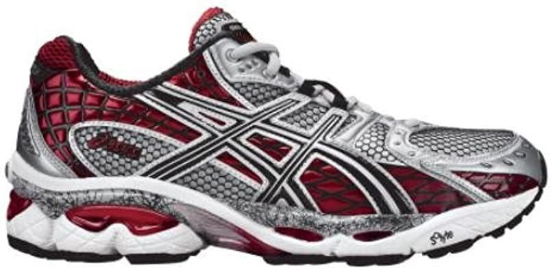 gara alluminio intervallo  Amazon.com | ASICS Gel Nimbus 10 Cushion Running Shoe Mens (9.5 D(M) US,  Black/Onyx/Flame) | Shoes
