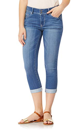 WallFlower Juniors Women's InstaSoft Ultra Fit Skinny Crop Jeans in Florence, - Skinny Jeans Juniors Capri