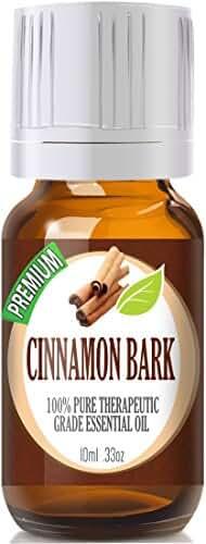 Cinnamon Bark - 100% Pure, Best Therapeutic Grade Essential Oil - 10ml