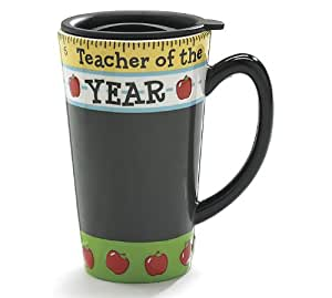 Teacher Of The Year Travel Coffee Mug Great Teacher's Gift