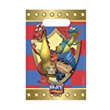 Mike the Knight 8 Pack Party Character Loot Bag Plastic