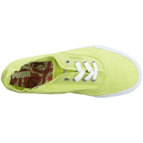 Puma - Sneaker 350935 13 Unisexe - Adulte, Giallo (gelb (wild Lime-blanc)), 38,5