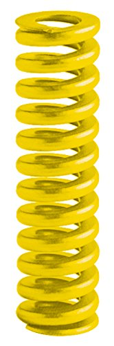 38 mm Solid Height 51 mm Free Length Pack of 10 20 mm Rod Fit Yellow 40 mm Hole Fit 627.9 N//mm Spring Rate Raymond 206708000 Chrome Silicon per SV 9254 ISO Die Spring