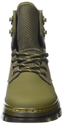 Synthetic Ajax Unisex Adults Nubuck Dr Martens Quinton Mid Olive vX80pvxn