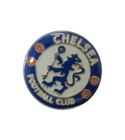 Chelsea FC Football Club Metal Pin Badge Crest Blue White Logo Emblem Official by all4yourparty