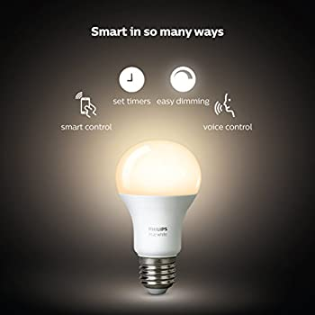 Philips Hue White A19 60w Equivalent Led Smart Bulb Starter Kit (4 A19 White Bulbs & 1 Hub Compatible With Amazon Alexa Apple Homekit & Google Assistant) 8