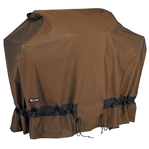 Alpine Outdoor Vent - Classic Accessories 56-270-036601-EC Elkridge Heavy Duty Grill Cover, Medium, Brown
