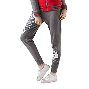 Extreme Pop Mujer Braguitas de chándal French Terry Joggers Negro ...