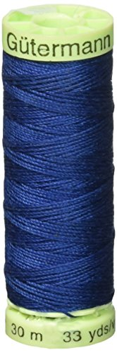 (Gutermann Top Stitch Heavy Duty Thread 33 Yards-Yale Blue)